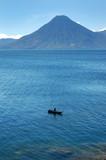 Volcanic Atitlan Lake in Guatemala