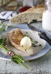 Baguette mit Butter