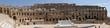 Panorama koloseum w El-Jem