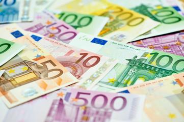 European currency money euro