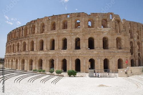 Rzymskie koloseum - El Jam