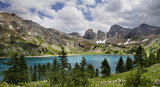 Image of Lac D'Allos .Alpes-de-Haute-Prov ence in France.