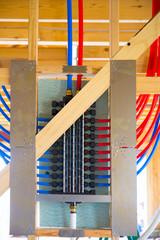 plumbing manifold system PEX tubing