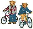 サイクリング 熊