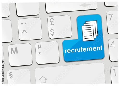 clavier recrutement