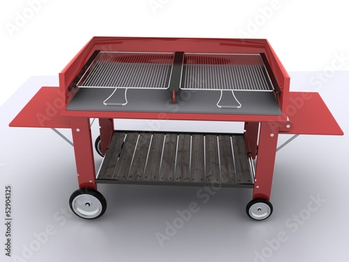 Barbecue (render)