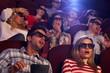 Shocking 3D movie in cinema