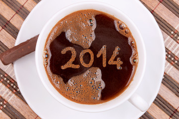 Coffee New year 2014
