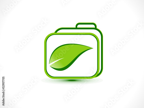 abstract eco folder icon