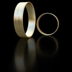 Rings - 3D Rendering
