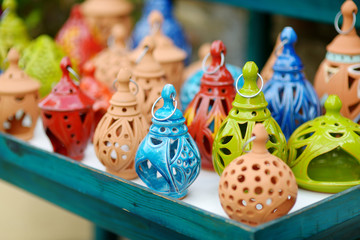 Greek ceramic lanterns