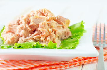 salad from tuna