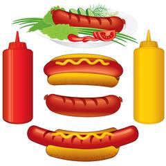 Hot Dogs Set