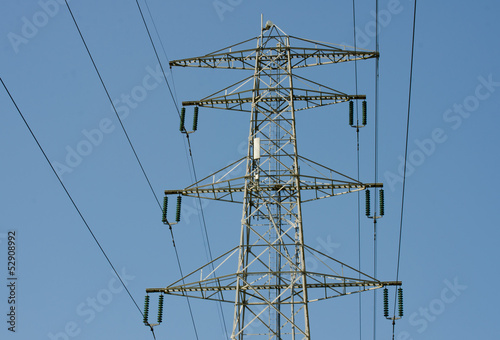 high voltage tower post
