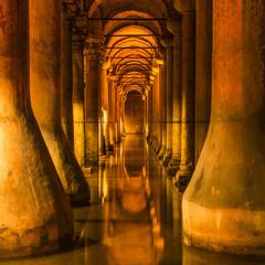 Underground Basilica Cistern in Istanbul