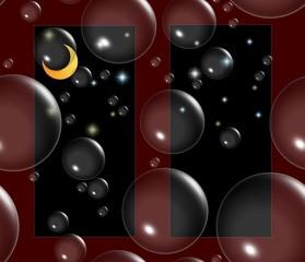 Seifenblasenträume in sternenklarer Nacht