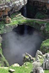 Baatara Sinkhole and Waterfall (Lebanon)