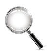metal magnifying glass