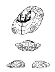 飛行船01