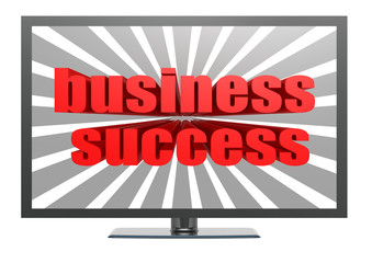 Business success on TV