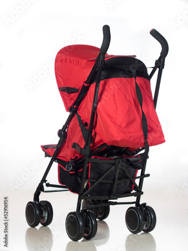 Red Stroller back view