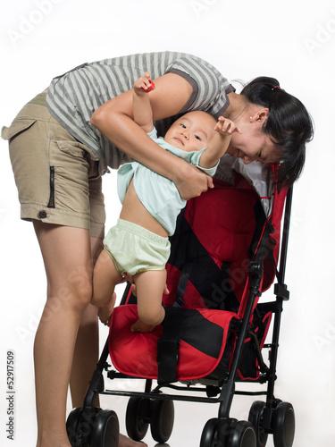 baby refuse stroller 2