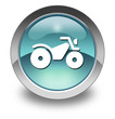 "Light Blue Glossy Pictogram ""All Terrain Vehicle Trail"""