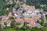 "Panoramic view on the ""Serra de Sintra"", Portugal"
