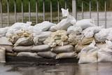 Hochwasser Sandsäcke