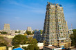 MADURAI, INDIA - MARCH 3: Meenakshi temple - one of the biggest
