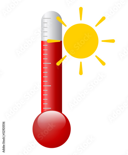 Vector hot symbol
