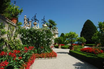 Jardins du Palais Borromée, Isola Bella, Lac Majeur, Italie