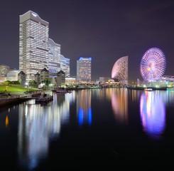 Yokohama, Japan Cityscape at Minato-mirai
