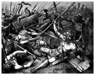 Battle Ancient Rome : Death of Spartacus