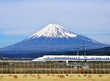 Mt. Fuji and the Bullet Train - 52922313