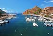 Harbour in Porto, Corsica