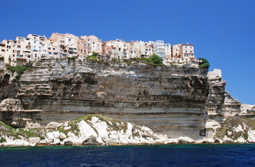Bonifacio, town on a cliff
