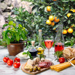 mediterrane Köstlichkeiten im Restaurant