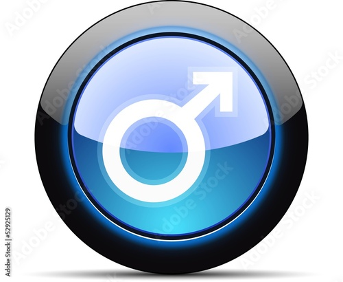 Mars (Male) button
