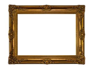 Barocker Rahmen, freigestellt