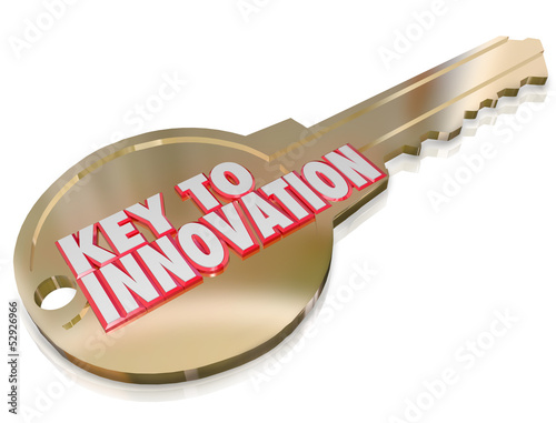 Key to Innovation Change Improvement Creativity Imagination