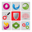 High quality vector logo set