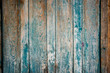 Old wall from wooden planks with paint traces