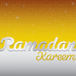 Ramadan Kareem card in vector format