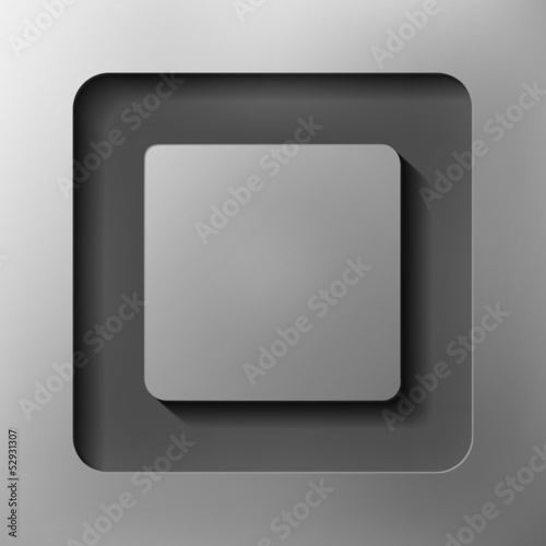 quadrangle, abstract background, vector style