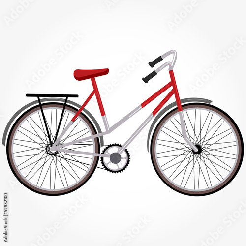 bike isolated