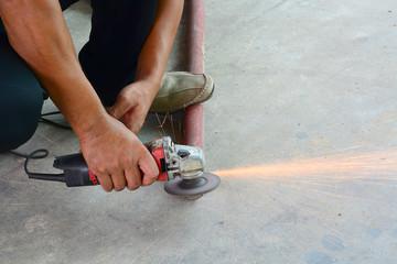 hand cutting steel