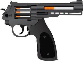 cigarettes pistol. second variant