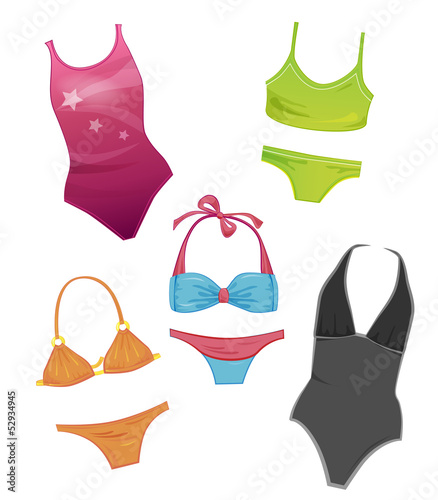 set of the swimsuits for girls