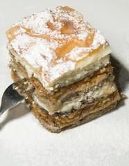gibanica traditional Slovenian dessert cake with poppy seeds app